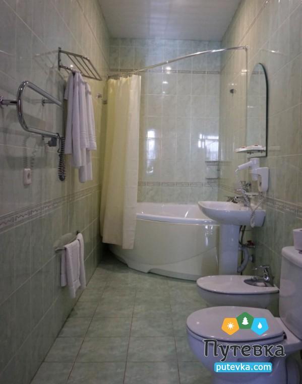 Фото номера Люкс 2-местный 2-комнатный (корп. №1 «Центральный»), 4