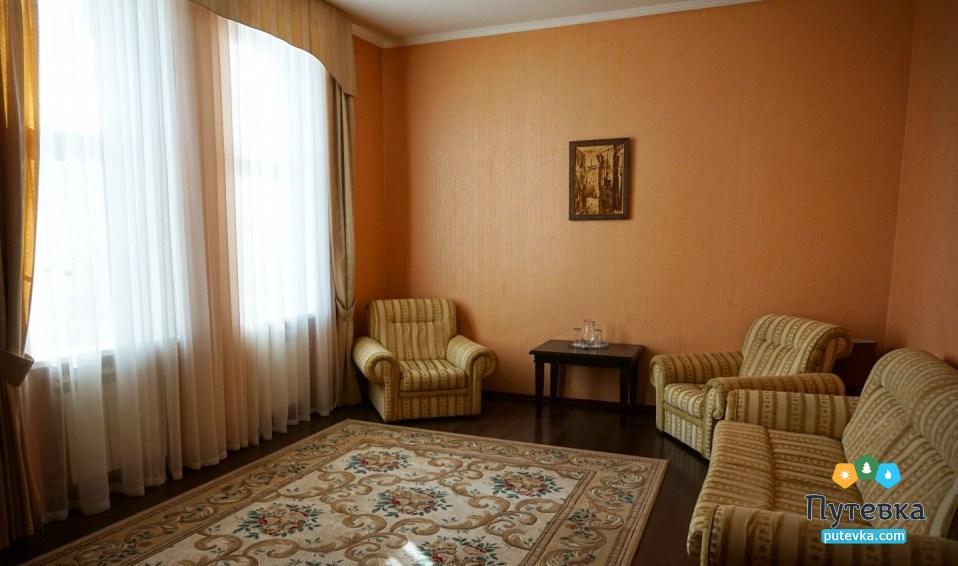 Фото номера Апартаменты 2-местный 3-комнатный (корп. №5 «Лермонтовский»), 3