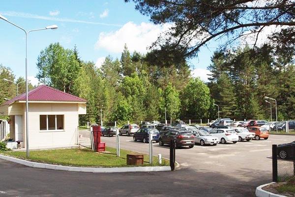 Санаторий Боровое ,Парковка