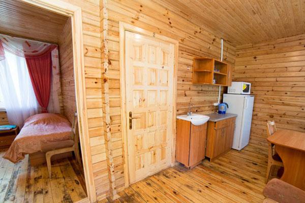 4-местный 2-комнатный номер в коттедже