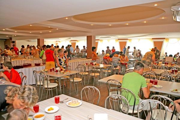 Пансионат Бургас,Ресторан