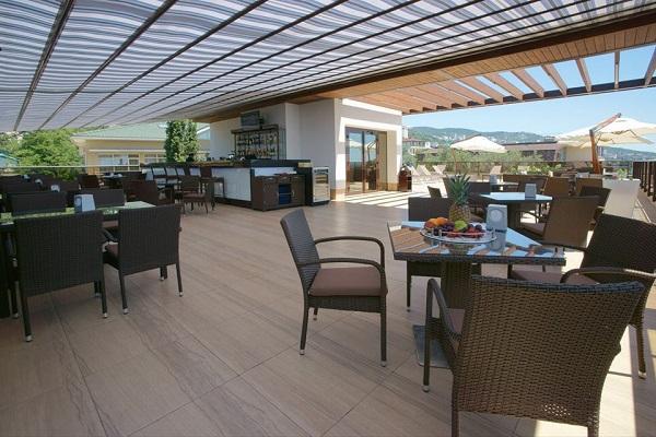 Отель Багатель,Кафе Адажио на панорамной крыше Sky Lounge