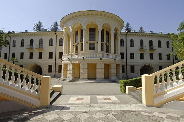 Санаторий Беларусь,Внешний вид