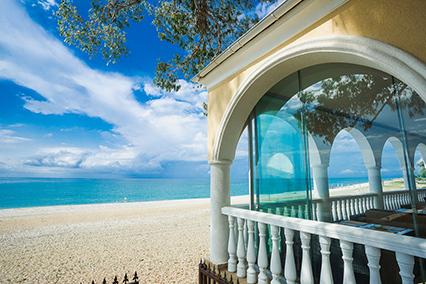 Отель Вилла Виктория ,Пляж