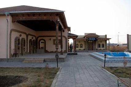 Отель Asia Khiva,Территория