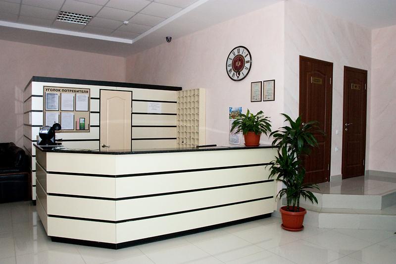 Отель На Эскадронной,Ресепшн
