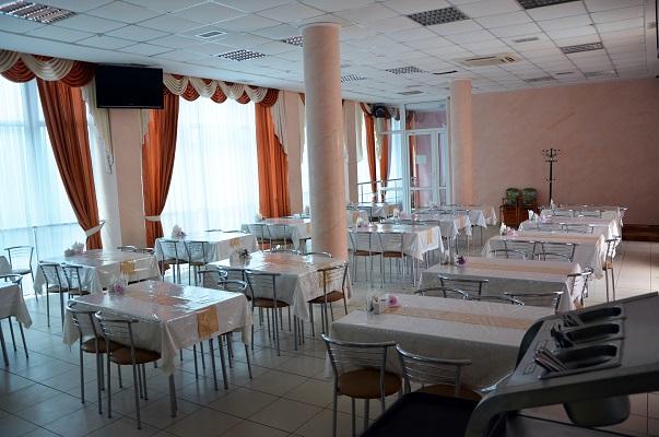 Отель На Эскадронной,Столовая