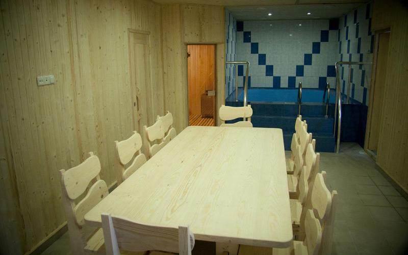 Отель На Эскадронной,Сауна. Комната отдыха