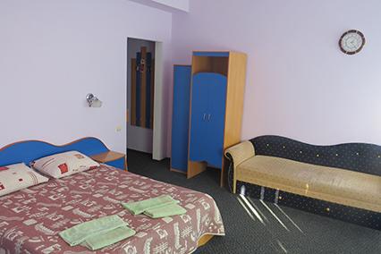 Гостиница Южная ночь,Стандартный 3-местный