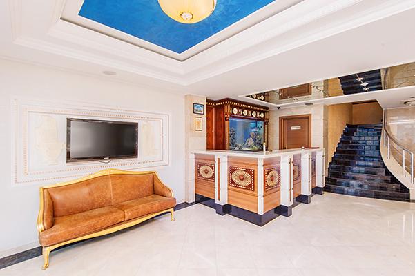Отель Агора,Холл 1 этажа,