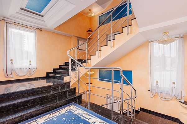 Отель Агора,Холл 3 этажа