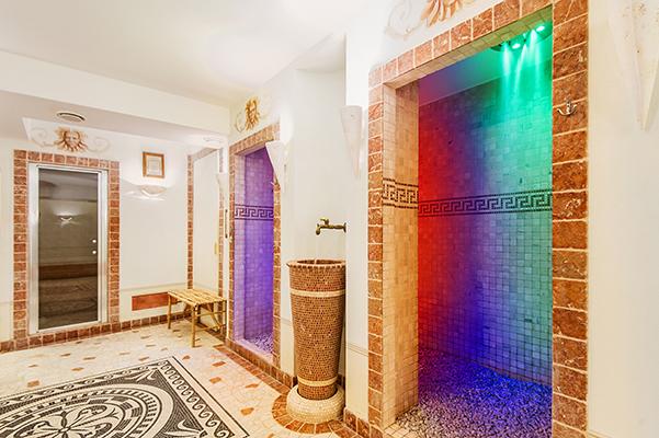 СПА, контрастный душ