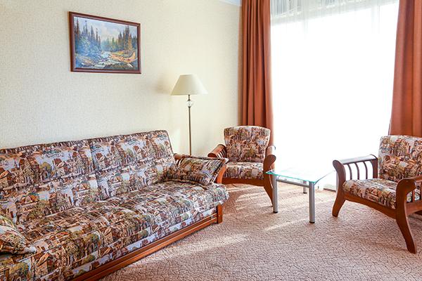 Бизнес 2-комнатный гостиная