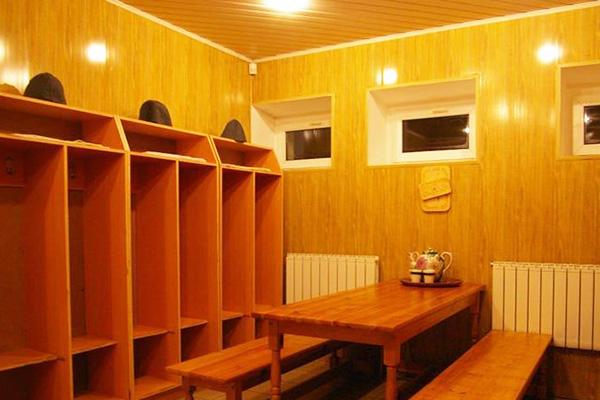 Санаторий Лесное (КГБ Республики Беларусь),Оздоровительный  комплекс: баня