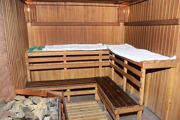 Оздоровительный  комплекс: баня