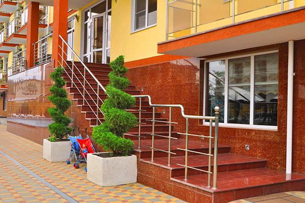 Отель  Гала Пальмира (Gala Palmira) ,Фасад
