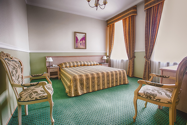 Гостиница Эрмитаж ,Номер категории бизнес-класс DBL-TWIN