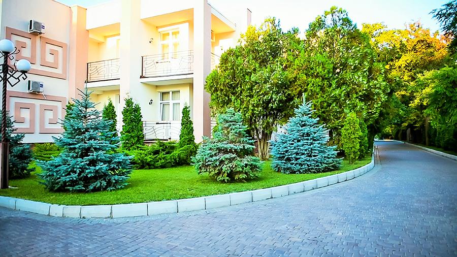 Отель Царь Евпатор,Территория
