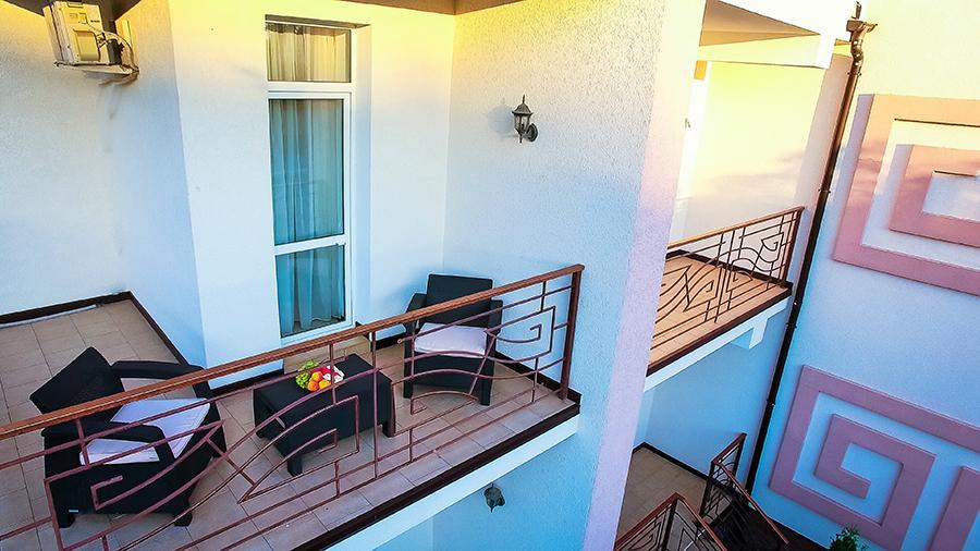 Отель Царь Евпатор,Вид на балкон