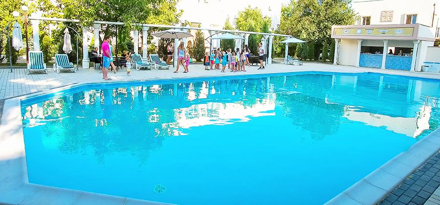 Отель Царь Евпатор,Открытый бассейн