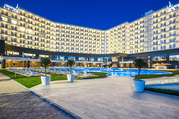 Гостиница Radisson Blu Paradise Resort and Spa Sochi,Фасад
