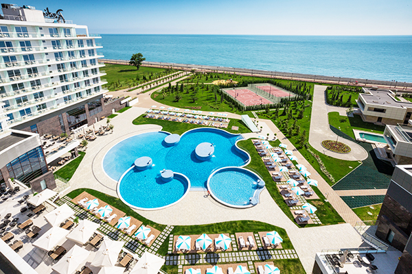 Гостиница Radisson Blu Paradise Resort and Spa Sochi,