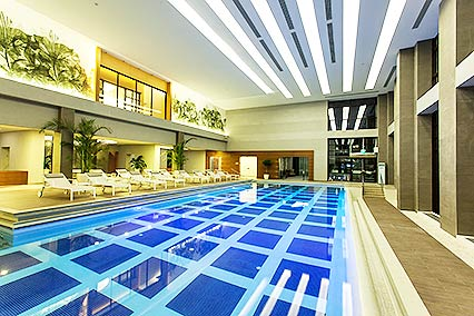 Гостиница Radisson Blu Paradise Resort and Spa Sochi,Бассйн