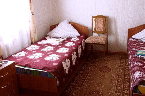 Санаторий-профилакторий Сосновый Бор,Номера в домиках