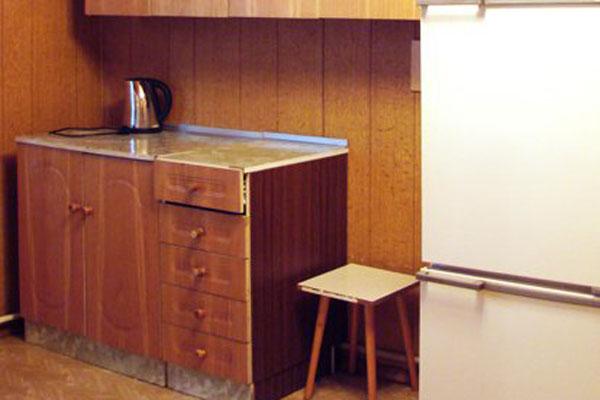 Санаторий-профилакторий Сосновый Бор,Кухня в летних домиках