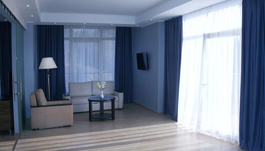 Отель Аквамарин СПА ,Сьют 2-местный 2-комнатный