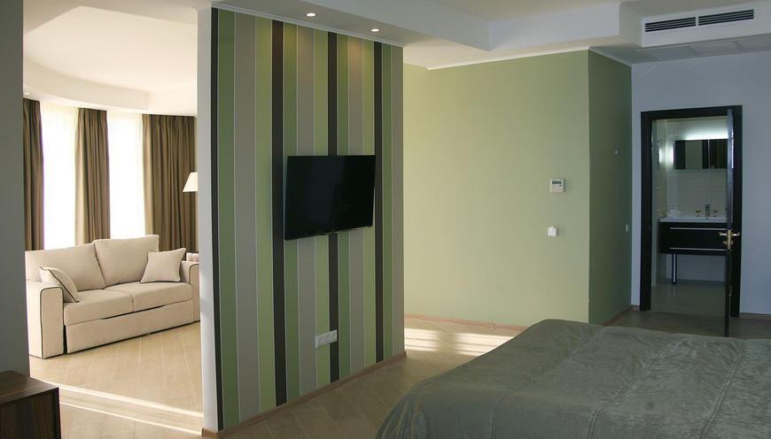 Отель Аквамарин СПА ,Делюкс 2-местный 2-комнатный