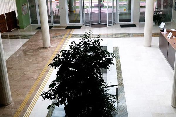 Пансионат Изумруд,Холл