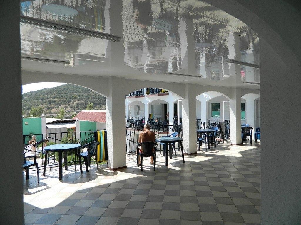 Пансионат Крым Енот,Галерея: общие балконы