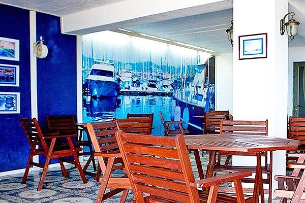 Отель 35-й меридиан,Кафе