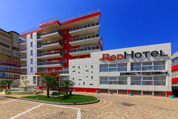 Гостиница Red Hotel (Рэд отель),Внешний вид