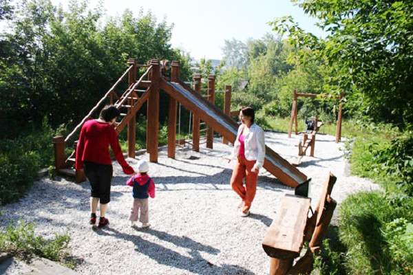 Лечебно оздоровительный комплекс ЛаВита,Детская площадка