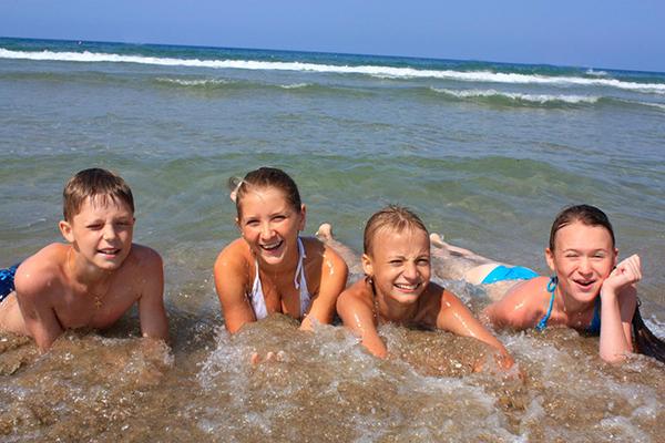 Детский лагерь отдыха Буревестник,Пляж