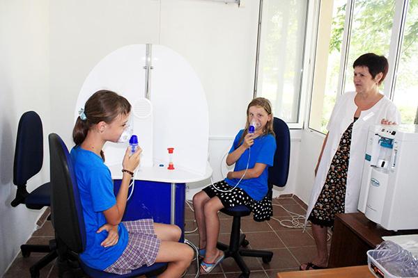Детский лагерь отдыха Буревестник,Лечение