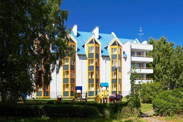 Пансионат с лечением Балтика,Фасад