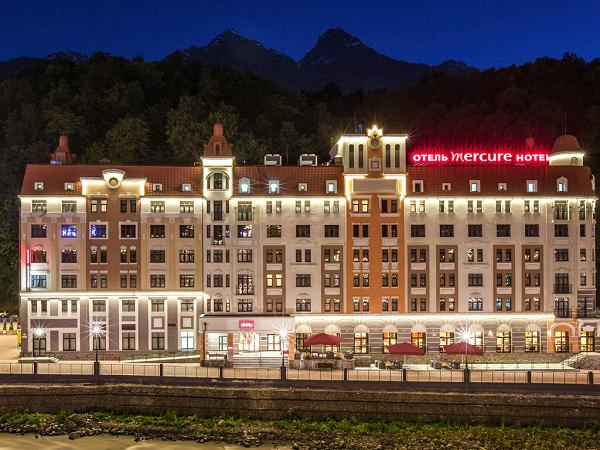 Отель Mercure Rosa Khutor (Меркури Роза Хутор) ,Общий вид на отель
