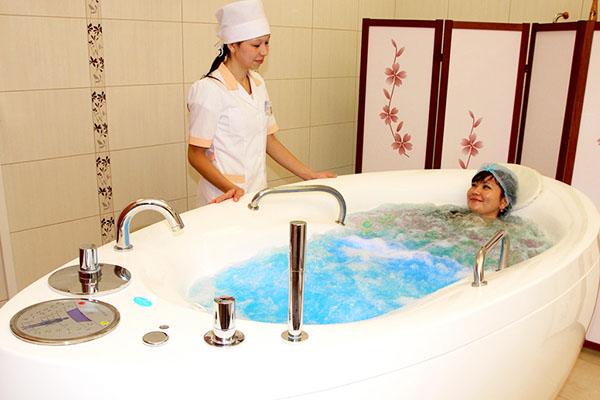 Минеральная ванна