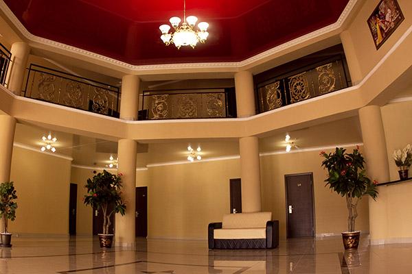Отель Белый песок,Холл