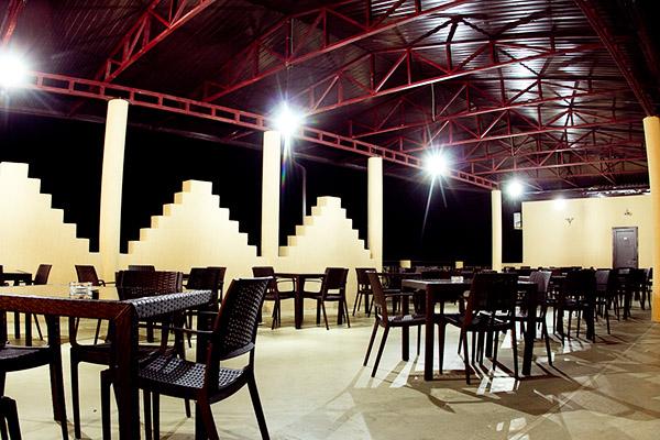Отель Белый песок,Летнее кафе