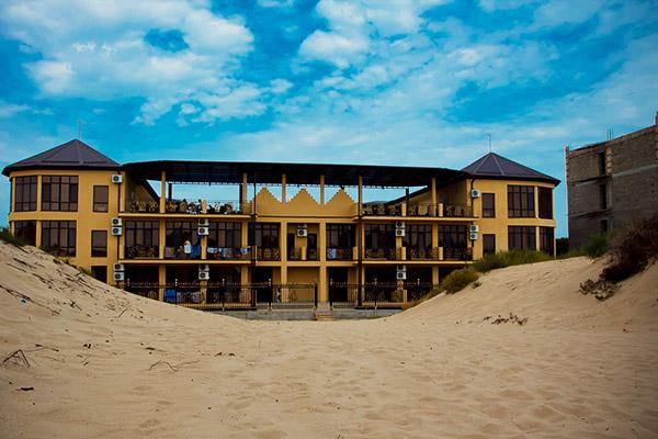 Отель Белый песок,Внешний вид