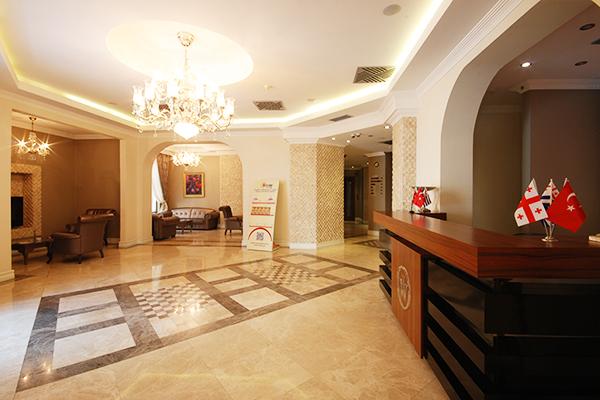 Отель Batumi World Palace,Фойе
