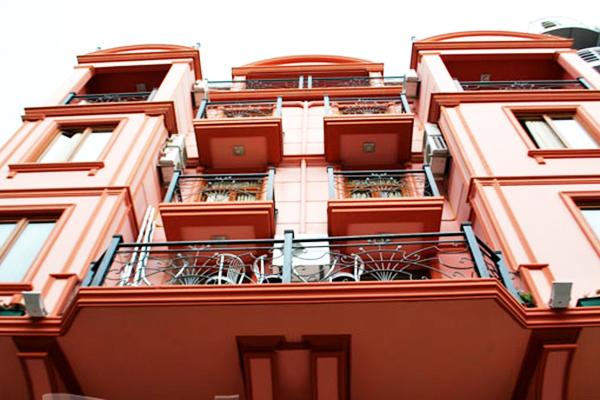 Отель Chao,Фасад