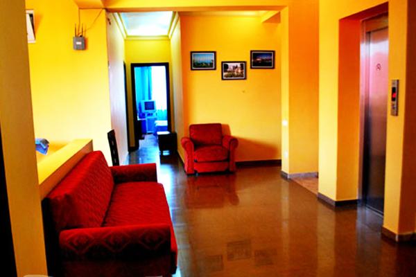 Отель Chao,Холл