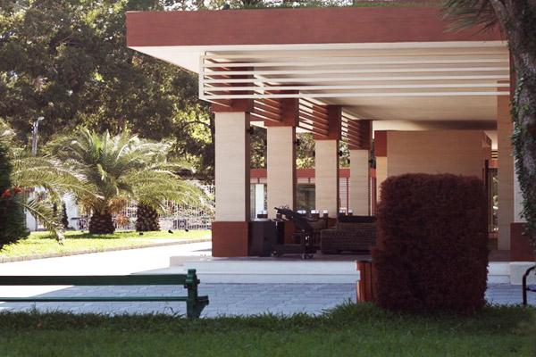 Отель Oasis,Вид
