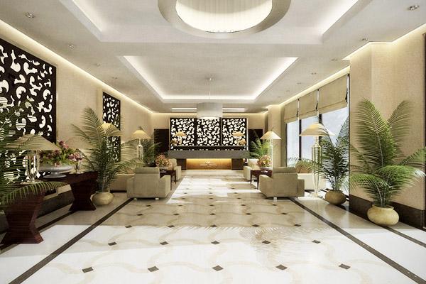 Отель Oasis,Холл