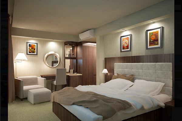 Отель Oasis,Номер